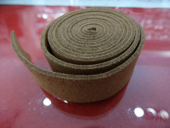 20mm Flat Suede Cord in Brown