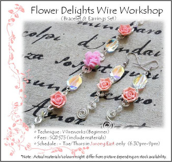 Jewelry Making: Flower Delights Wire Workshop