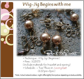 Jewelry Making: Wig Jig Begins with Me Workshop