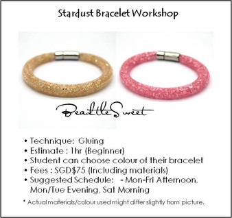 Jewelry Making : Stardust Bracelet Workshop