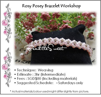 Jewellery Making : Rosy Posey Bracelet Workshop