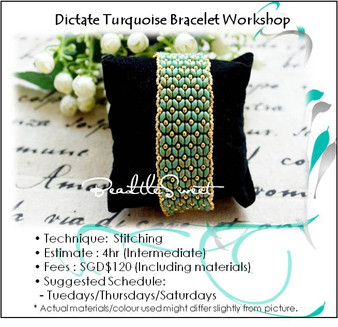 Jewelry Making : Dictate Turquoise Bracelet Workshop