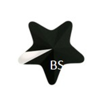 Swarovski 5714 Star Bead Jet 8mm