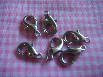 12mm Lobster Claw Nickel