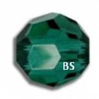 Swarovski 5000 Emerald Round Bead