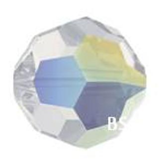 Swarovski 5000 White Opal AB Round Bead