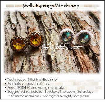Stella Earring Stitching Workshop