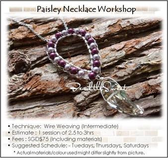 Paisley Necklace Workshop