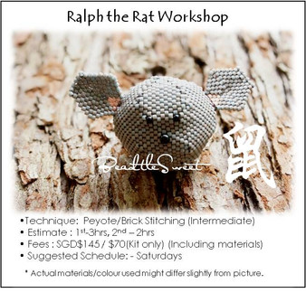 Jewelry Making Course : Ralph the Rat Workshop