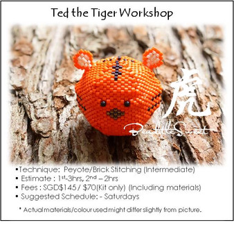 Jewelry Making Course : Ted the Tiger Workshop