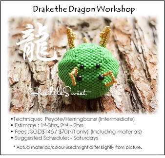 Jewelry Making Course : Drake the Dragon Workshop