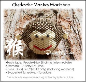 Jewelry Making Course : Charles the Monkey Workshop