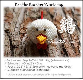 Jewelry Making Course : Rex the Rooster Workshop