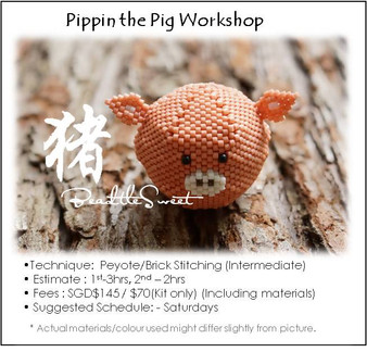 Jewelry Making Course : Poppin the Pig Workshop