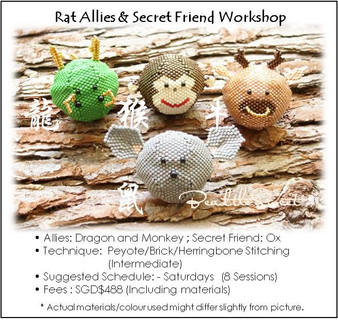 Jewelry Making Course : Ralph the Rat Allies and Secret Friend Workshop