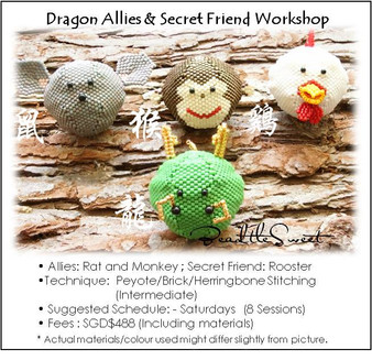 Jewelry Making Course : Dragon Allies and Secret Friend Workshop
