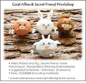 Jewelry Making Course : Goat Allies and Secret Friend Workshop