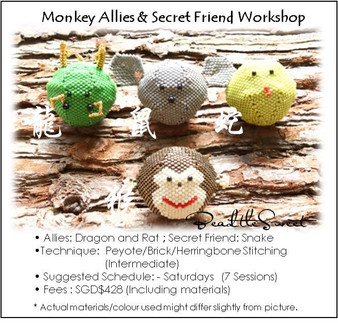 Jewelry Making Course : Monkey Allies and Secret Friend Workshop
