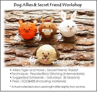 Jewelry Making Course : Dog Allies and Secret Friend Workshop