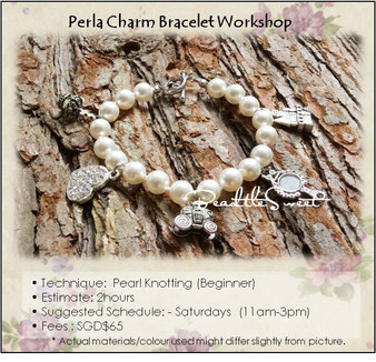 Jewelry Making Course : Perla Charm Bracelet Workshop