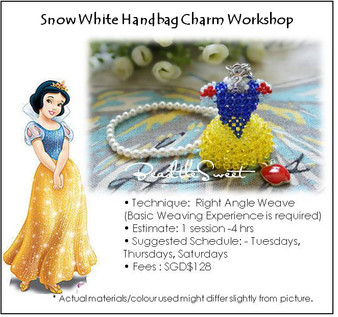 Jewelry Making Course : Snow White Handbag Charm Workshop