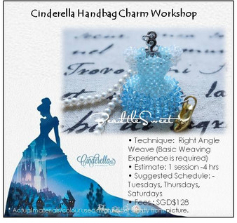 Jewelry Making Course : Cinderella Handbag Charm Workshop