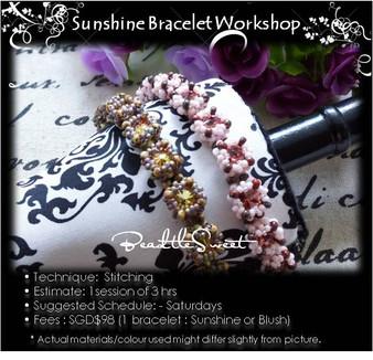 Jewelry Making Course : Sunshine Bracelet Workshop