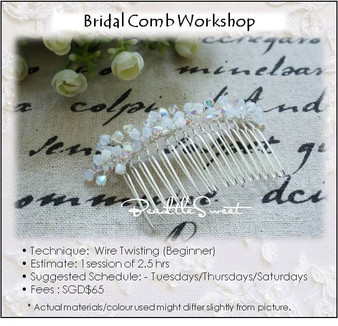 Jewelry Making Course : Bridal Comb Workshop