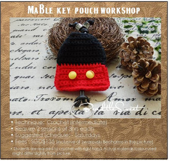 Crochet Course: Mable Key Pouch Workshop