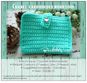 Crochet Course: Chanel Card Holder Workshop