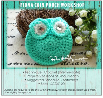 Crochet Course: Fiona Coin Pouch Workshop