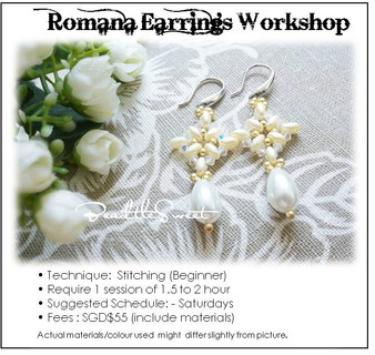 Jewelry Making Course : Romana Earring Workshop