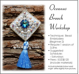 Jewelry Making Course : Oceanus Brooch Workshop