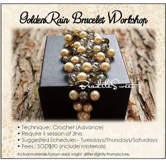 Jewelry Making Course : Golden Rain Bracelet Workshop