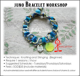 Jewelry Making Course : Juno Bracelet Workshop