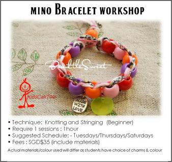 Jewelry Making Course : Mino Bracelet Workshop