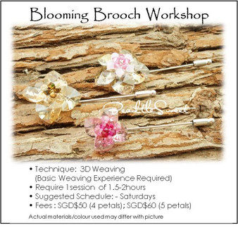 Brooch Making Course : Blooming Brooch Workshop