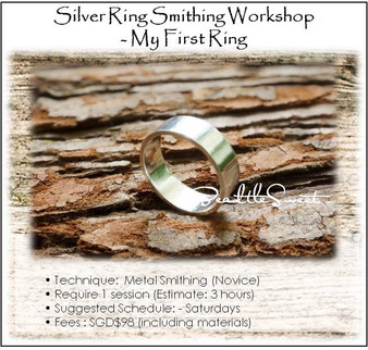 Metal Smithing Course : My First Ring Workshop