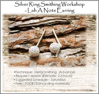 Metal Smithing Course : Lah a Note Earring Workshop