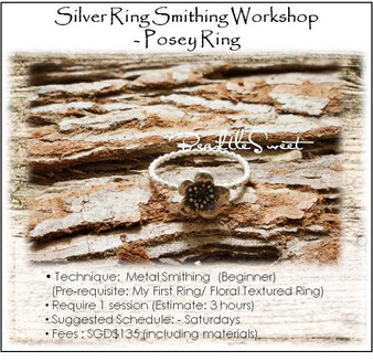 Metal Smithing Course : Posey Ring Workshop