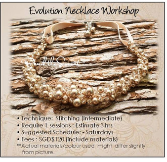 Jewelry Making Course : Evolution Necklace Workshop
