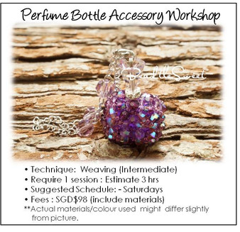 Accessory Making Course : Perfume Bottle Accessory Workshop