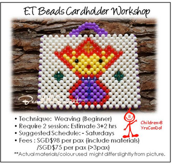 Beads Cardholder Making Course : ET Cardholder