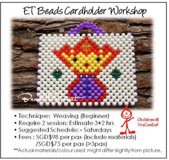 Beads Cardholder Making Course : ET Cardholder