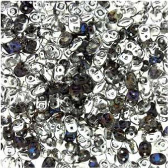 SuperDuo Beads 2.5X5mm Crystal Helio