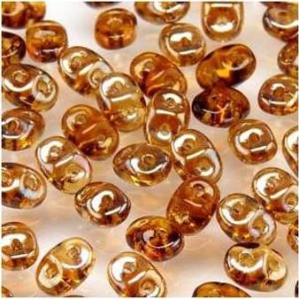 SuperDuo Beads 2.5X5mm Topaz Celsian