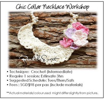 Jewelry Making Course : Chic Collar Necklace Workshop