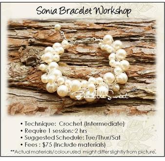 Jewelry Making Course : Sonia Bracelet Workshop