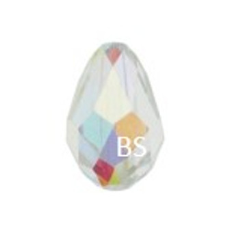 Swarovski 5500 Drop Bead Cystal AB 9x6mm