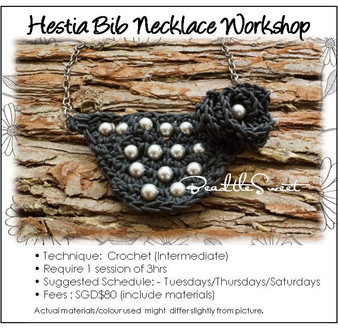Jewelry Making Course : Hestia Bib Necklace Workshop